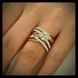 Beautiful Two Toned Ring